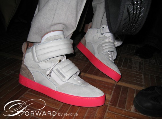 Kanye West x Louis Vuitton - High Top Sneaker - New Pictures