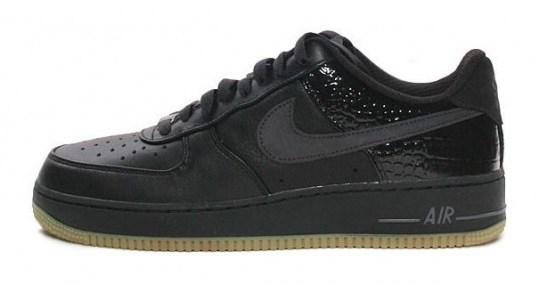 Nike Air Force 1 Low Premium LE – Black – Gum