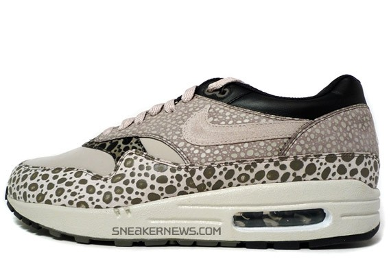 Nike Air Max 1 Safari Leopardo Nero Della Stampa IC9xPrPiQ