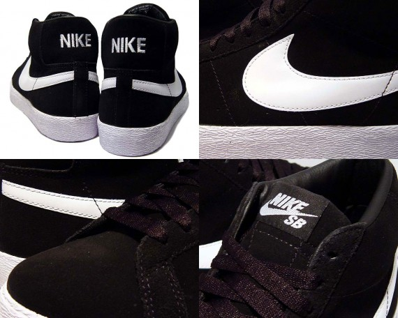 Nike Blazer Haute De Photo En Noir Et Blanc 0gnoZkNk0m