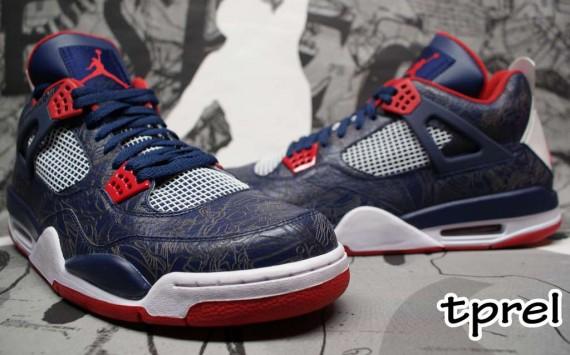 huge selection of 3df28 c9e43 Air Jordan IV - Laser - PE - Carmelo Anthony