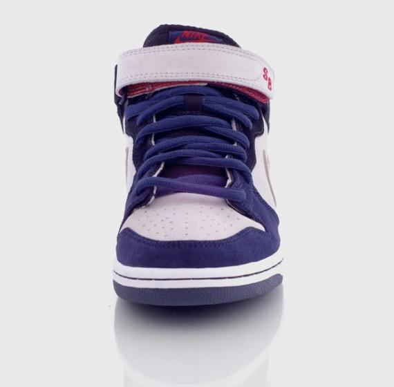 Nike Sb Dunk Mediados Jordan Púrpura Blanca c46CU7cI