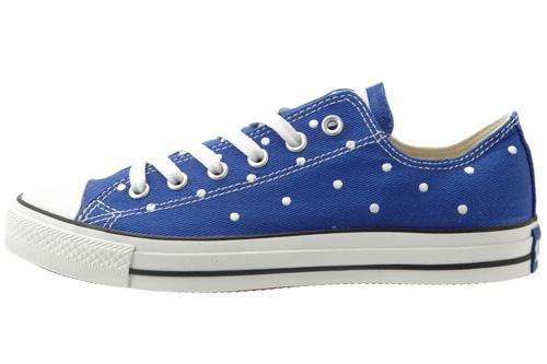 blue high tops converse. The royal lue shoe sports