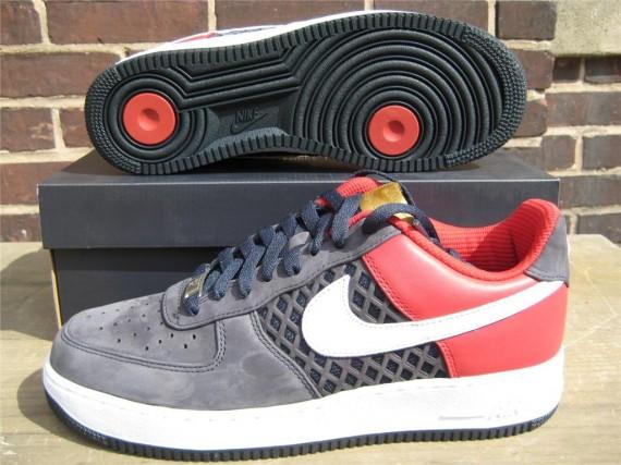 premium selection 2286d 7631f Nike Air Force 1 Low Premium - Birds Nest - Obsidian - SneakerNews.com