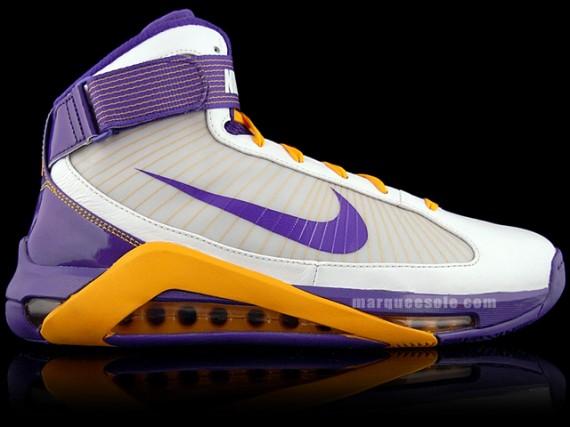 a5c198609 Nike Hypermax - Pau Gasol PE - Los Angeles Lakers Home - SneakerNews.com