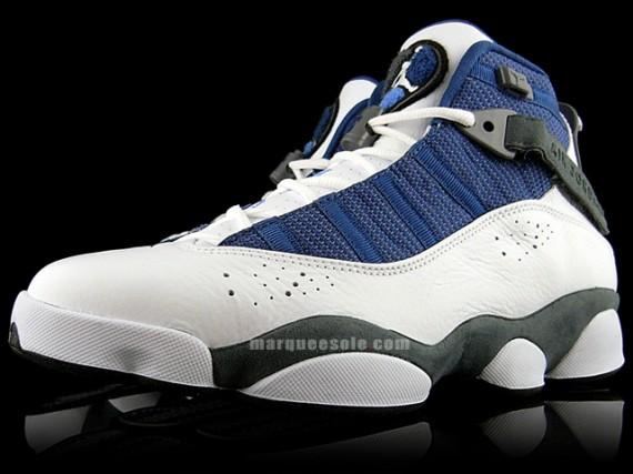 420 new balance - Air Jordan Six (6) Rings - White - Flint Grey - French Blue ...
