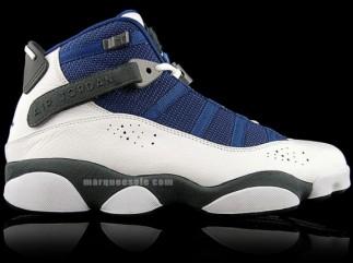 new styles ef5a2 de29d Jordan Six Rings - French Blue - Flint Grey - Release ...