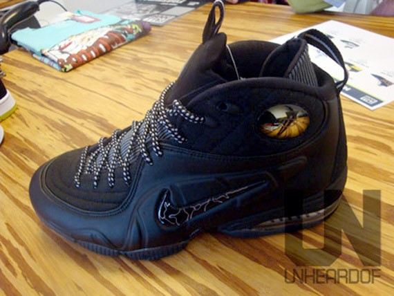 Nike Air Penny 1/2 (Half) Cent - Black out