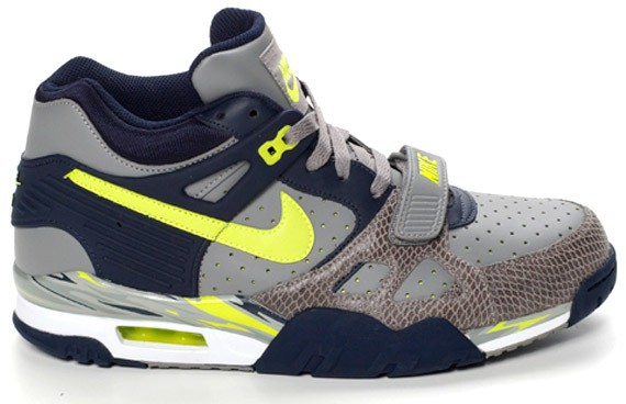 Nike Air Trainer III LE - Charcoal - Volt