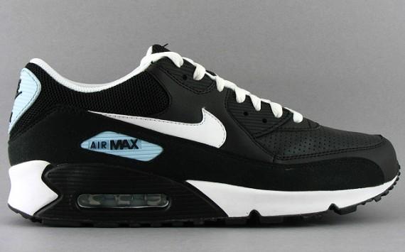 Nike Air Max 90 Black White Blue