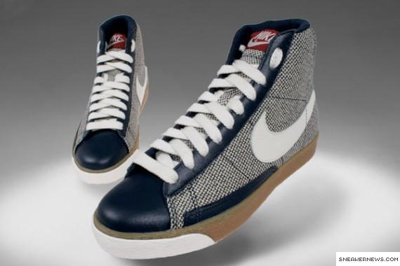 Nike Blazer Mid Premium Womens - Slate - Woven