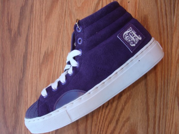 Alife Shell Toe Purple Black