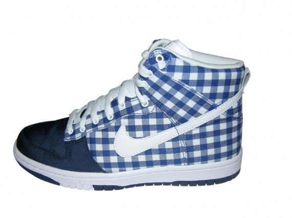 Womens Skinny Dunk High - Checkered Tablecloth