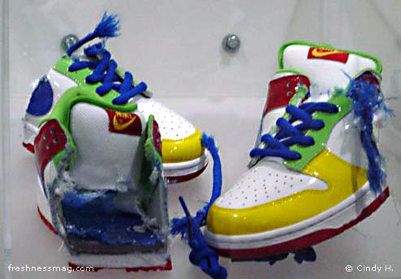 eBaY Dunks - Charity Shoe 2003