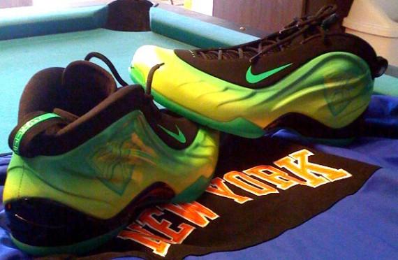 407acc5850f6e Nike Foamposite Lite - Kryptonate - Nate Robinson Slam Dunk Contest Sneakers