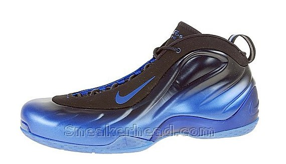 338a904d1d5f6 Nike Foamposite Lite - Black   Dark Neon Royal - SneakerNews.com