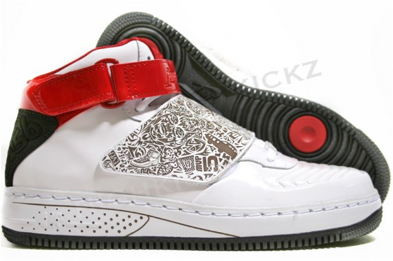 best sneakers b5c0f 406b5 Air Jordan Force XX (AJF 20) - White - Black - Red