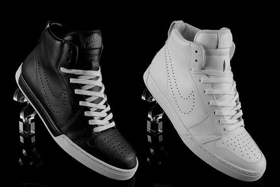 856be27ba396 Nike Air Royal Mid Premium - White Black + Black White - SneakerNews.com