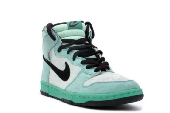 Nike Dunk High Pro SB - Sea Crystal - Ice Green - Black - Sea Crystal