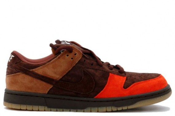 Nike SB Dunk Socks - Bison - Dark Cinder - Sport Red