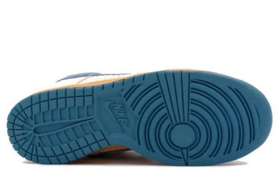 Nike Dunk Low Pro SB - Cascade Hemp - Jersey Gold - Cascade Blue