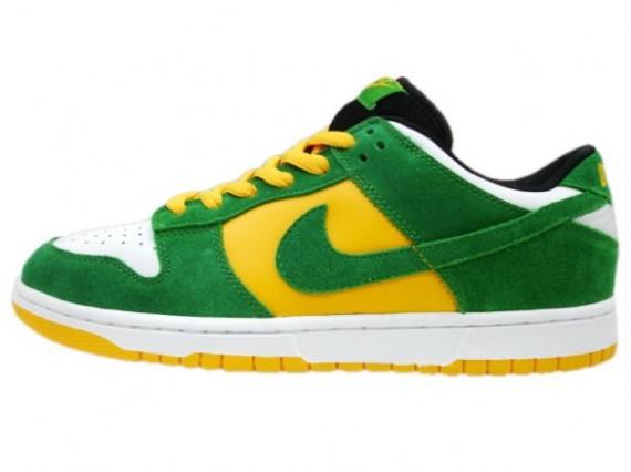 green yellow nikes
