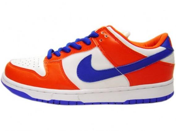 Nike Dunk Low Pro SB - Danny Supa - Safety Orange - Hyperblue - White