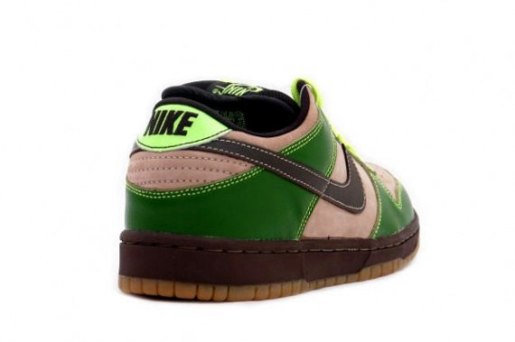 nike sb dunk low green