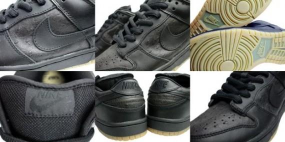 Nike Dunk Low Pro SB - Ostrich - Black - Black - Ostrich