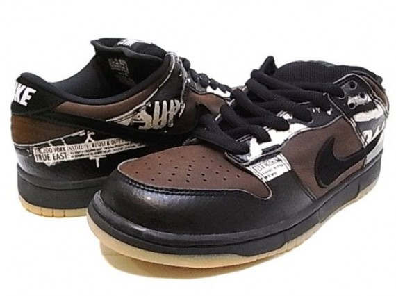 Nike Dunk Low Pro SB   Zoo York   Paul Brown   Black