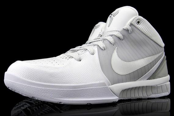 all white kobe shoes