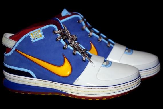 b2b765f5ecd Nike Zoom Lebron VI - Hardwood Classic Alternate