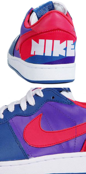 Nike Terminator Low ND - Purple - White - Red - Navy