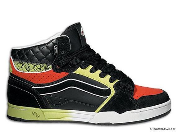 Vans Owens HI LS - OJ Fader - Black - Green - SneakerNews.com