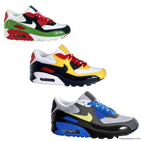 air max 90 multicolor