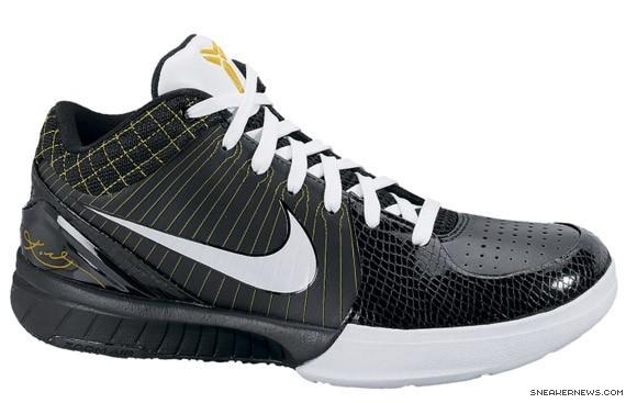 Nike Zoom Kobe IV - Black - White - Del Sol - SneakerNews.com 2aebf3287