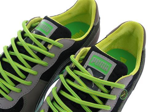 Puma Easy Rider Trek - Black - Dark Olive - Fluorescent Green