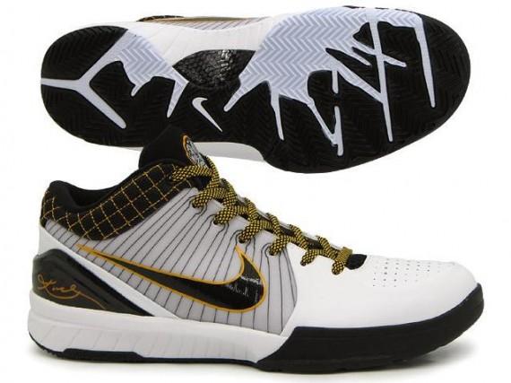 Nike Zoom Kobe IV - White - Black - Del Sol - Playoff Pack - SneakerNews.com 0c28eef59