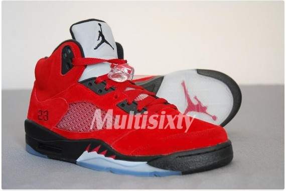 hot sale online 16db3 e293e Air Jordan V – Defining Moments Pack 2 (DMP2) – Raging Bull