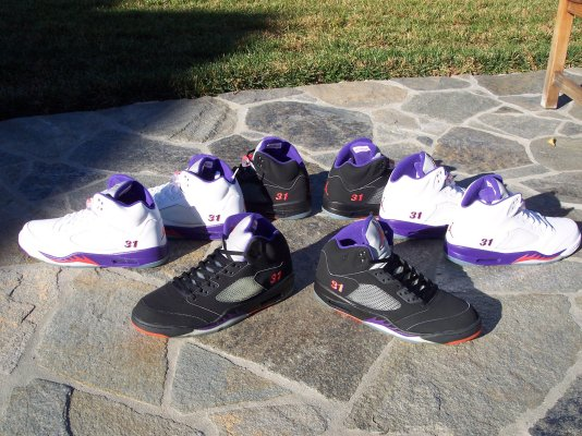 Air Jordan V - Shawn Marion - Player Exclusives