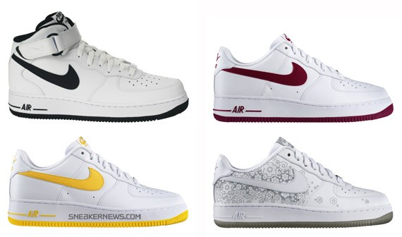 540676ce8ca2 Nike Air Force 1 - April + May 2009 Releases - SneakerNews.com