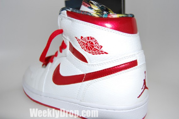 Air Jordan 1 Do the Right Thing Pack - Metallic Red - Detailed Pictures