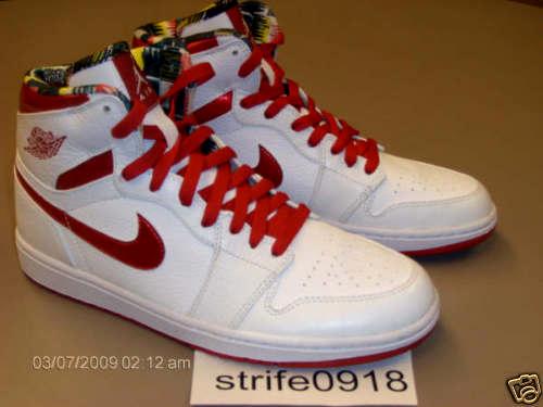 Air Jordan 1 High Retro - Metallic Red - Sample - SneakerNews.com 3de08cadc3c7