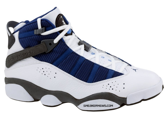 the best attitude a6eca 655e7 Jordan Six Rings - French Blue - Flint Grey - Release Reminder ...