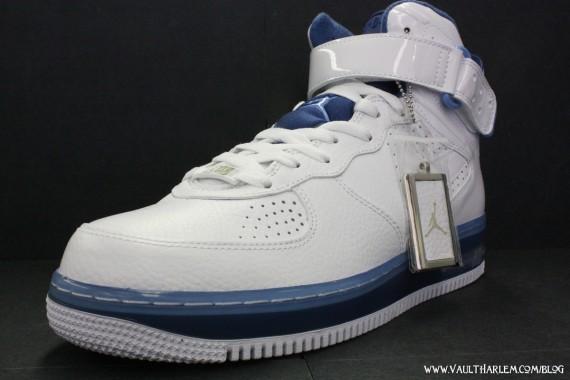 Air Jordan Force VI High - White - Court Blue - University Blue