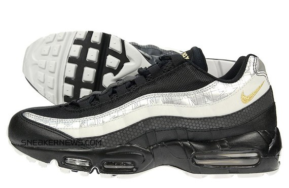 348deb6e57 Nike Air Max 95 Black Silver JD Sports Exclusive high-quality ...