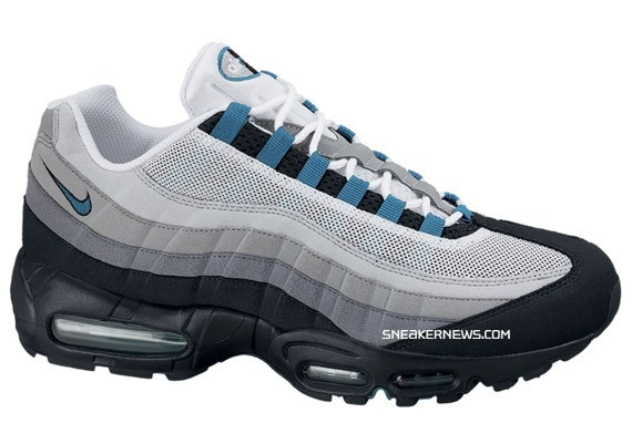 nike air max 95 grey solar red wine