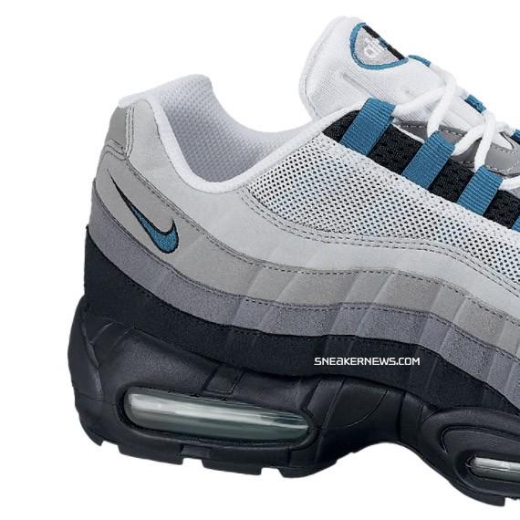 new product 59919 e9c88 Nike Air Max 95 - Fresh Water
