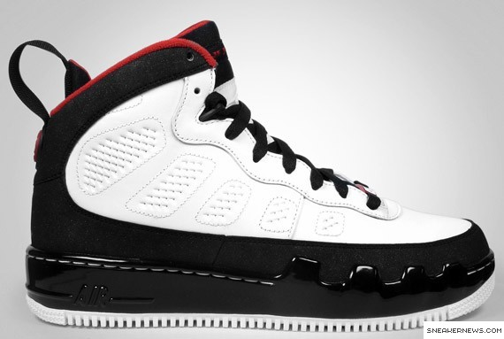 b8e28d268e25 ajf-9-white-black-red-352753-1611.jpg. Air Jordan Force 9 (Limited Release)