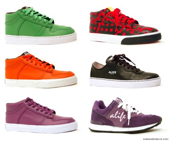 Alife Footwear Spring 2009 Collection
